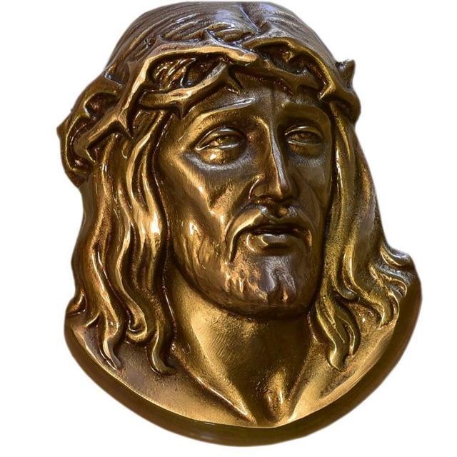 Jesusköpfe - Messing