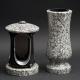 Laterne - Vase Granit Schlesisch