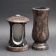 Laterne - Vase Granit Aurora