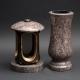 Laterne - Vase Granit Lila gerais