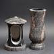 Laterne - Vase Granit Himalaya
