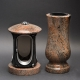Laterne - Vase Granit Multicolor