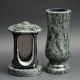 Laterne - Vase Granit Olive green