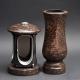 Laterne - Vase Granit Ruby Star