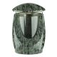 Grablampe aus Granit Olive green